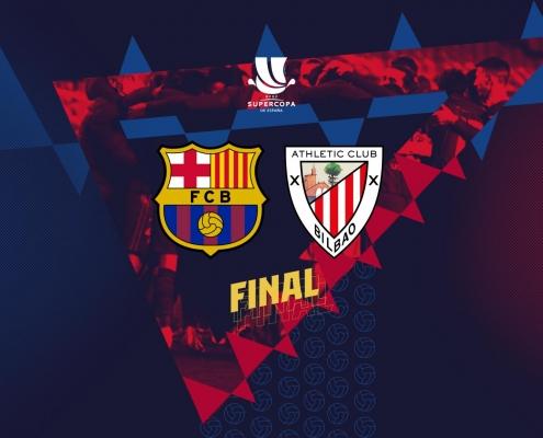 El Athletic Club, rival del Barça en la final de la Supercopa