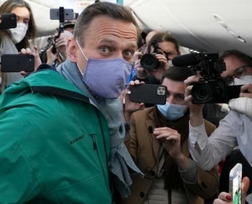 Maas exige liberación inmediata de Navalni