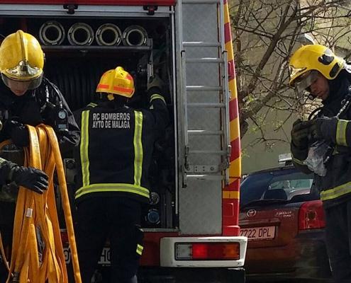 Una salida de vía se salda con cinco personas heridas en Torremolinos