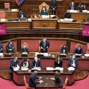 Consejo Europeo, Comunicaciones del presidente Draghi en el Parlamento