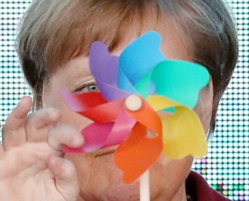 Merkel: neutralidad climática para 2045