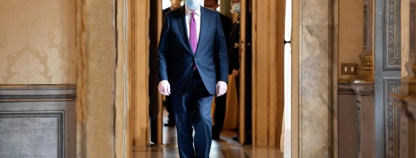 El presidente Draghi en la cumbre sobre economías africanas en París