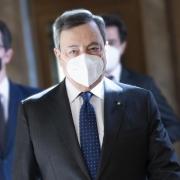 El presidente Draghi se reúne con el presidente de la República de Túnez, Kais Saied