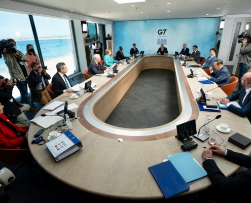 Presidente Draghi en la Cumbre del G7