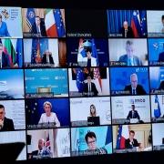 """Draghi participa en la Cumbre """"Proceso de Berlín"""""""