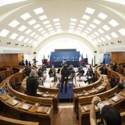 Draghi - Cartabia - Conferencia de prensa Hope