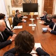 El presidente Draghi se reúne con los sindicatos
