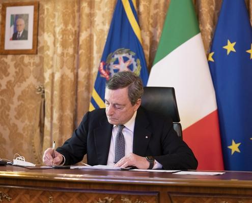 """""""Conferencia de las Academias de los países del G20"""", el mensaje del presidente Draghi"""