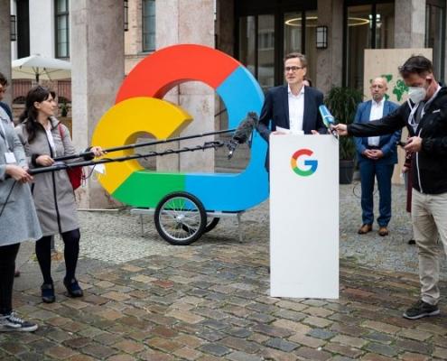 Google invierte mil millones en Alemania