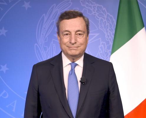 Foro de las principales economías sobre energía y clima, mensaje en video del presidente Draghi