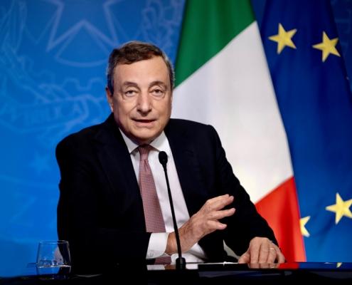 ONU, el presidente Draghi habla en la mesa redonda sobre el clima