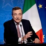 El presidente Draghi habla en el evento virtual por el vigésimo aniversario del Fondo Mundial