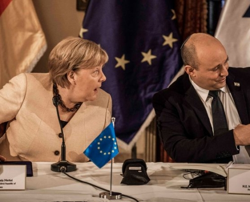 Última visita oficial de Merkel a Israel