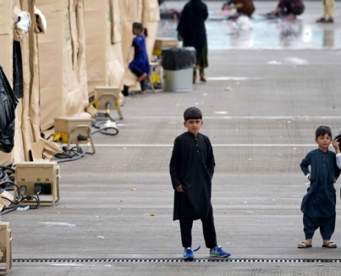 Vuelos estadounidenses con afganos de Ramstein a Estados Unidos